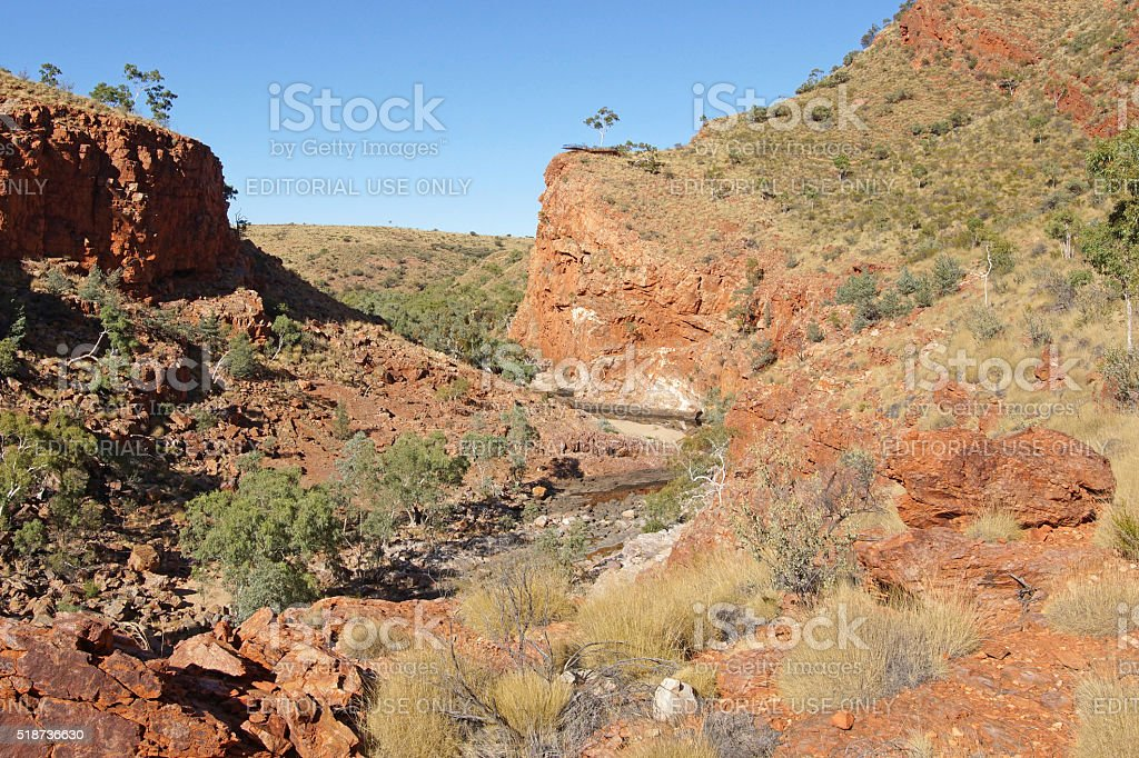 West MacDonnell National Park, Australia stock photo
