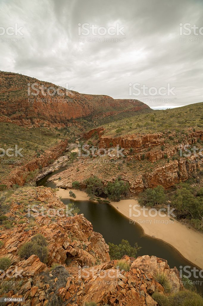 West MacDonnell national park stock photo