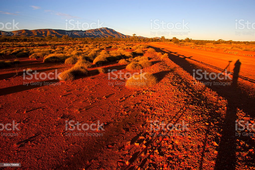 West Macdonnell Ranges, Northern Territory, Australia royalty-free stock photo