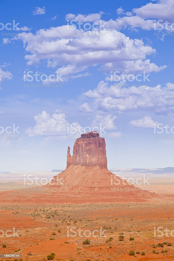 West Mitten Butte royalty-free stock photo