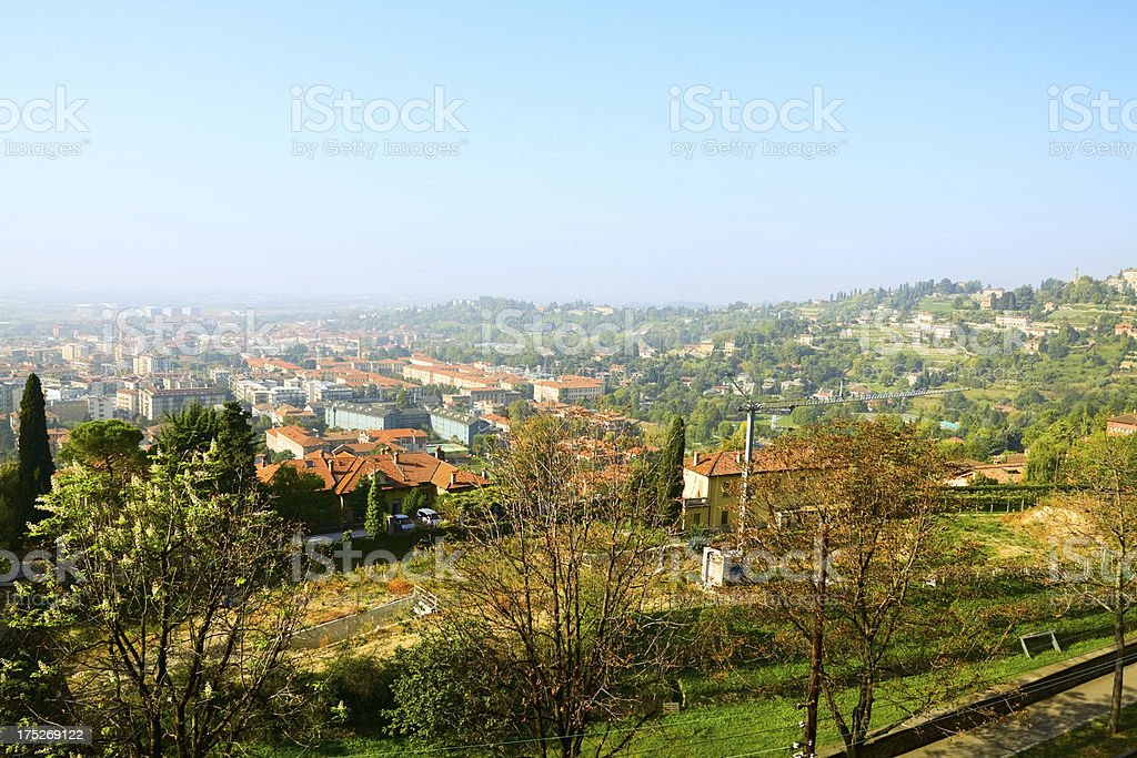 West of Bergamo and Lombardy royalty-free stock photo