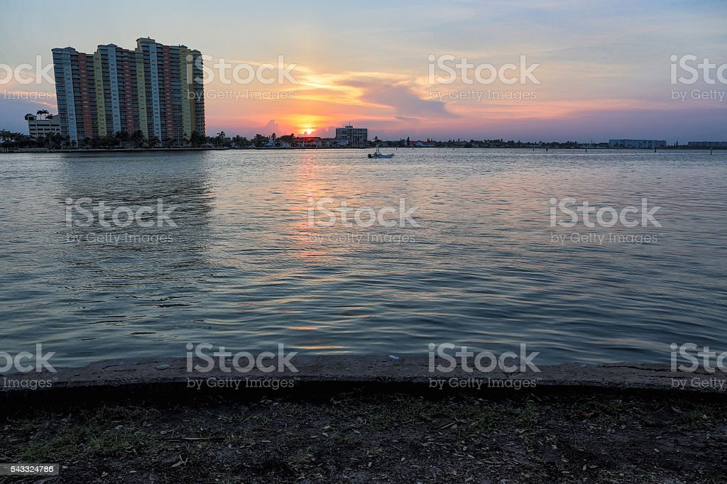 West Palm Beach, FL stock photo