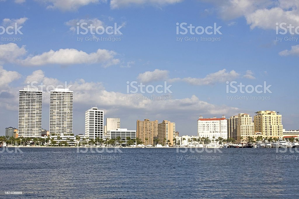 West Palm Beach, Florida royalty-free stock photo