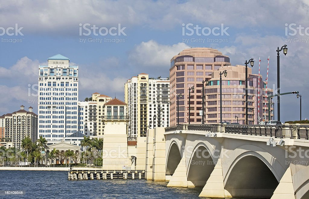 West Palm Beach, Florida royalty-free stock photo