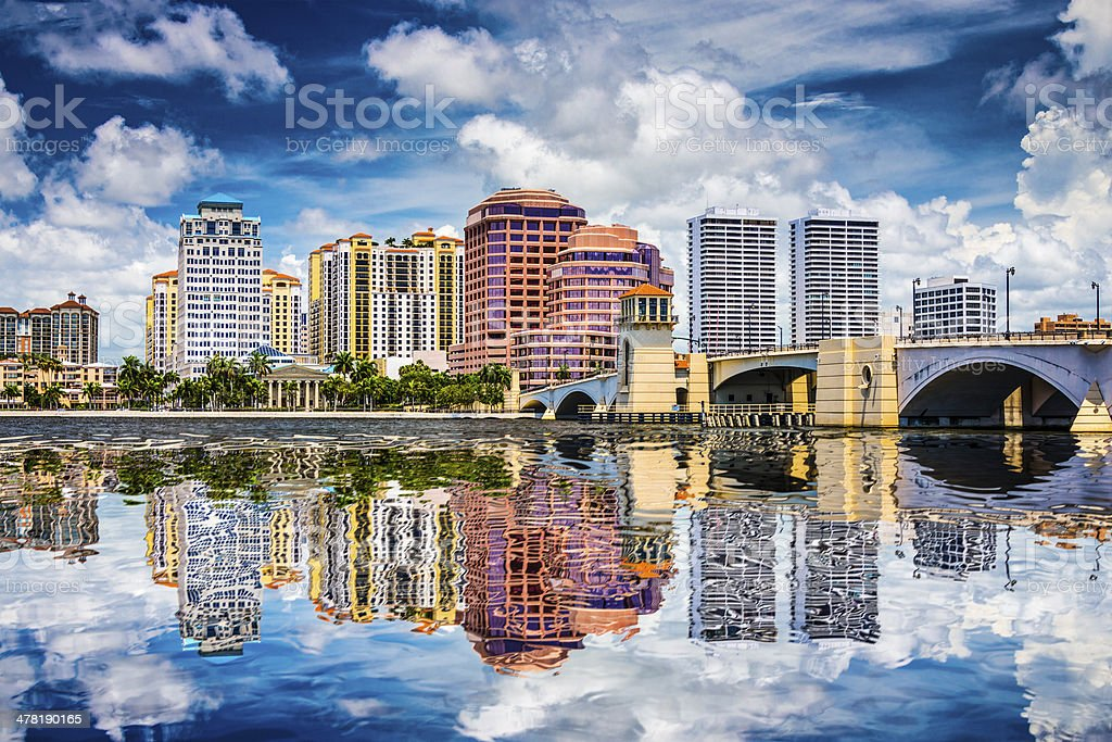 West Palm Beach, Florida stock photo