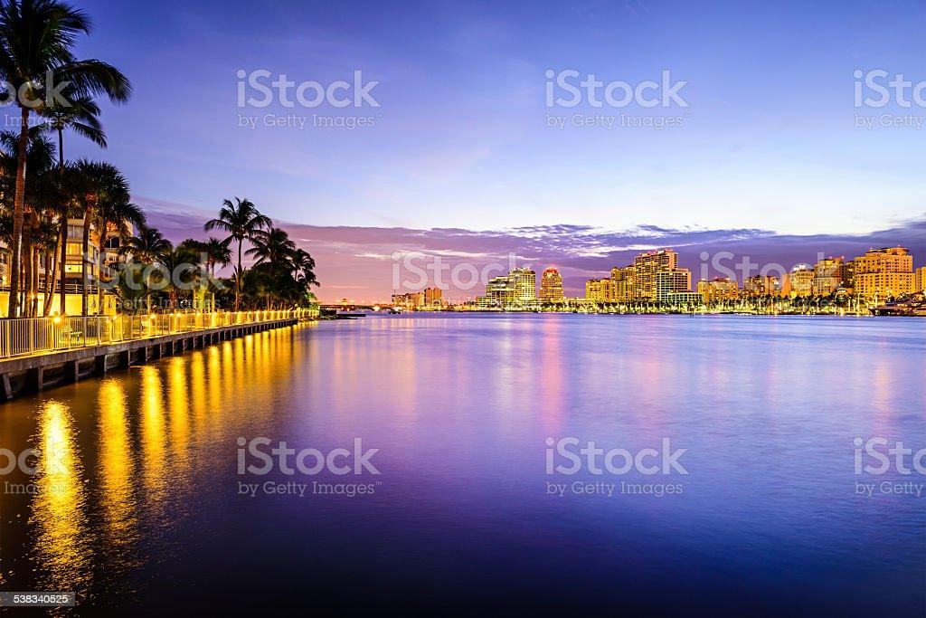 West Palm Beach Florida stock photo