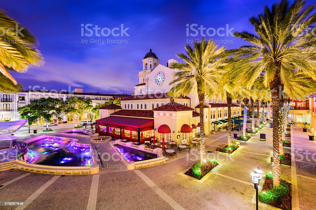 West Palm Beach, Florida stock photo