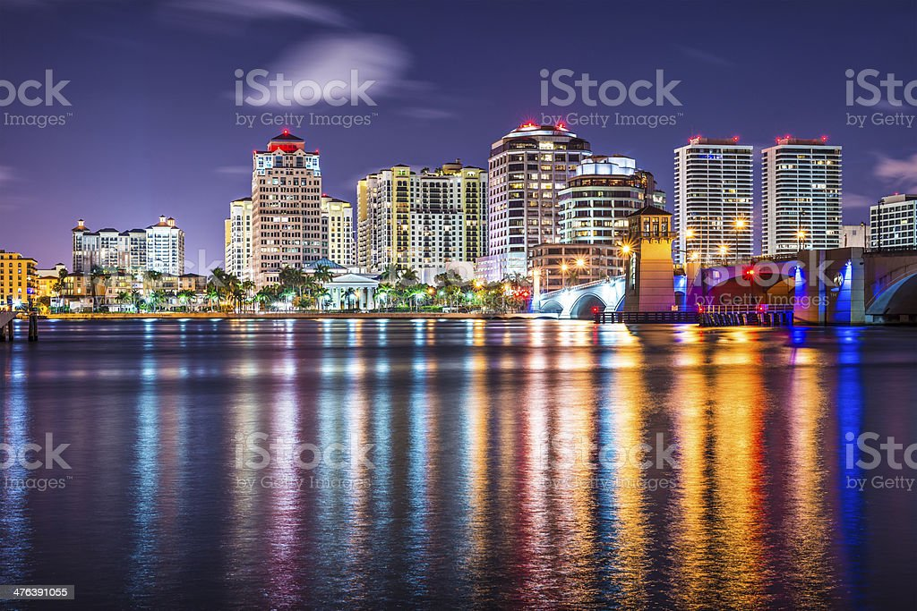 West Palm Beach stock photo