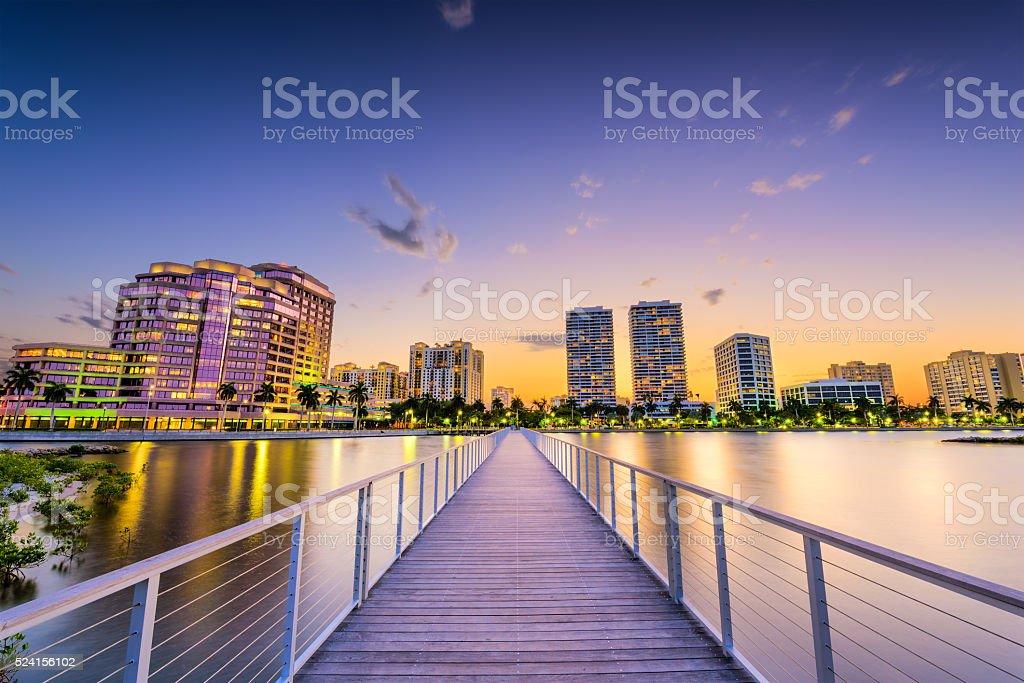West Palm Beach stock photo