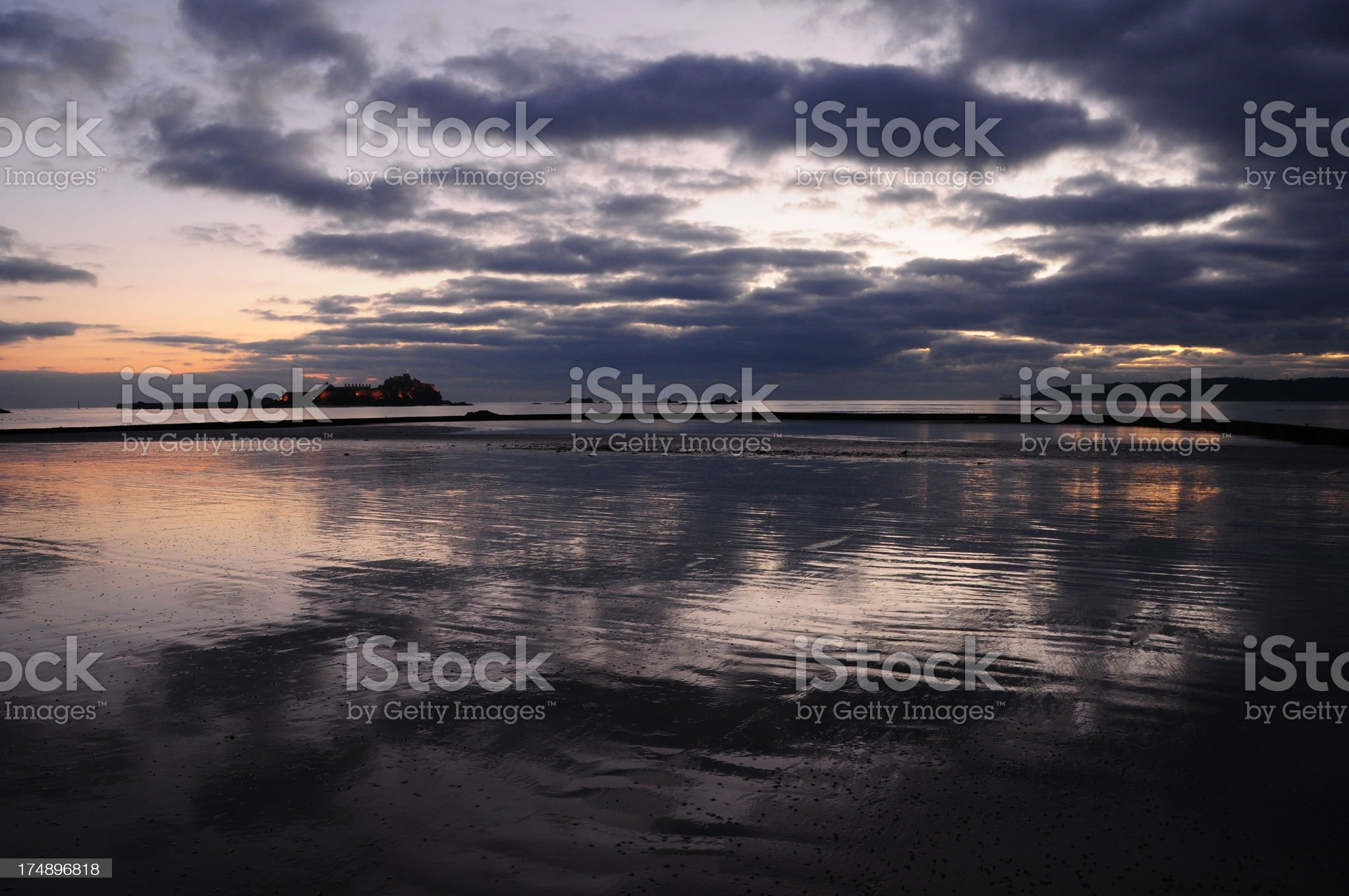 West park,Jersey. royalty-free stock photo