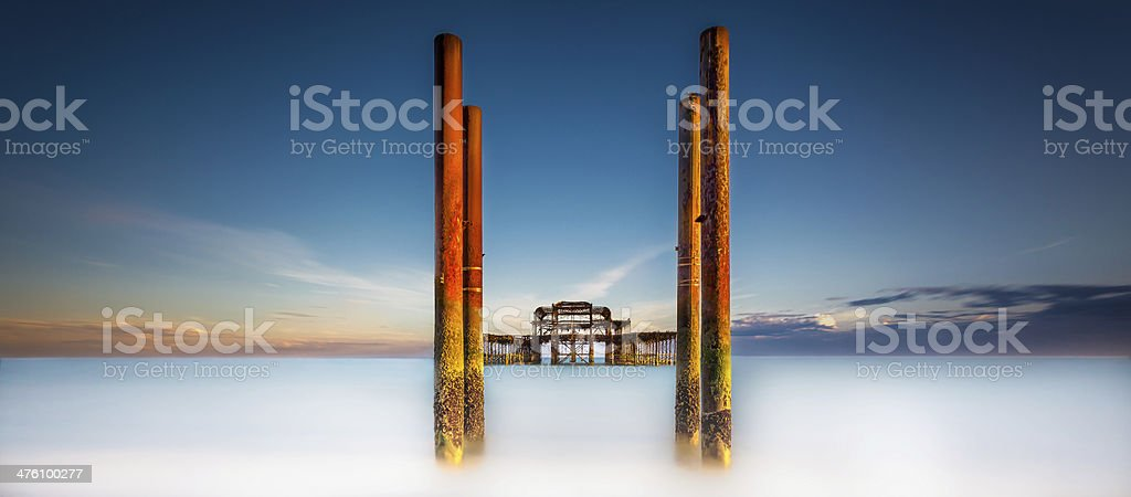 West Pier royalty-free stock photo