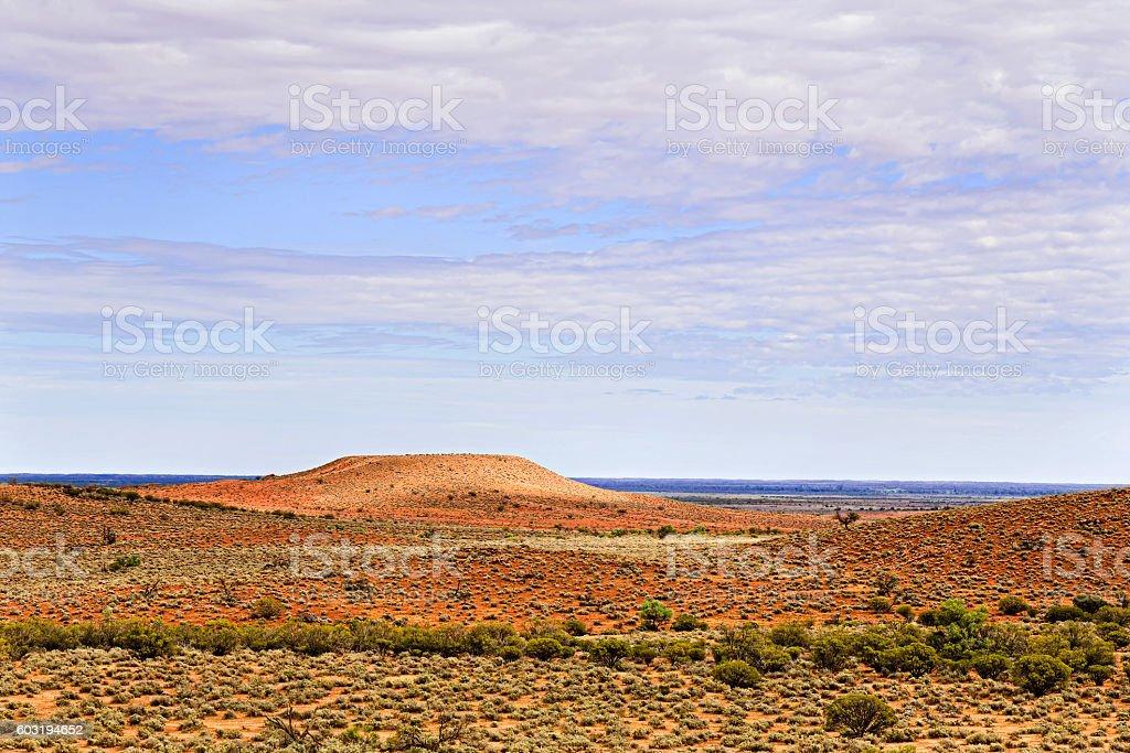 FR West plain Flat Crown Hill stock photo