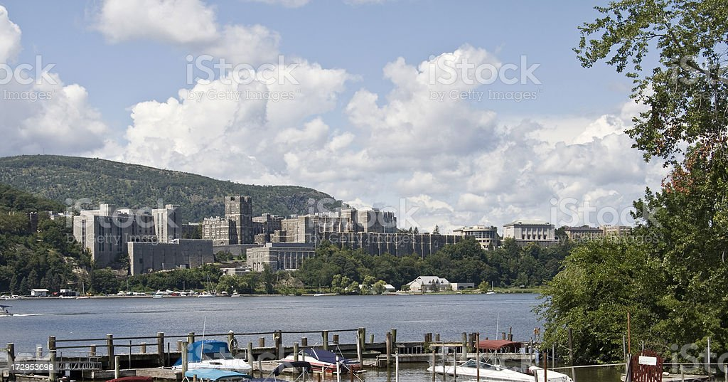 West Point Military Academy stock photo