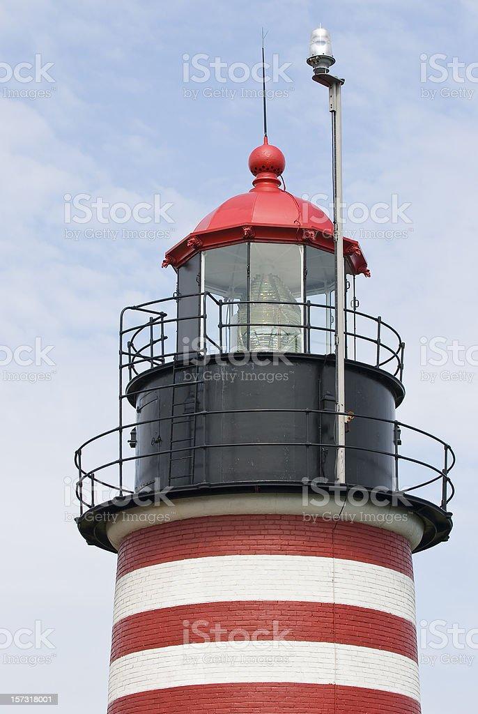 West Quoddy Head Light stock photo