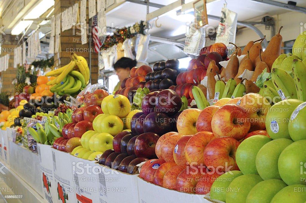 West Side Market produce royalty-free stock photo