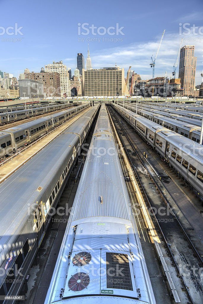 West Side Yard stock photo