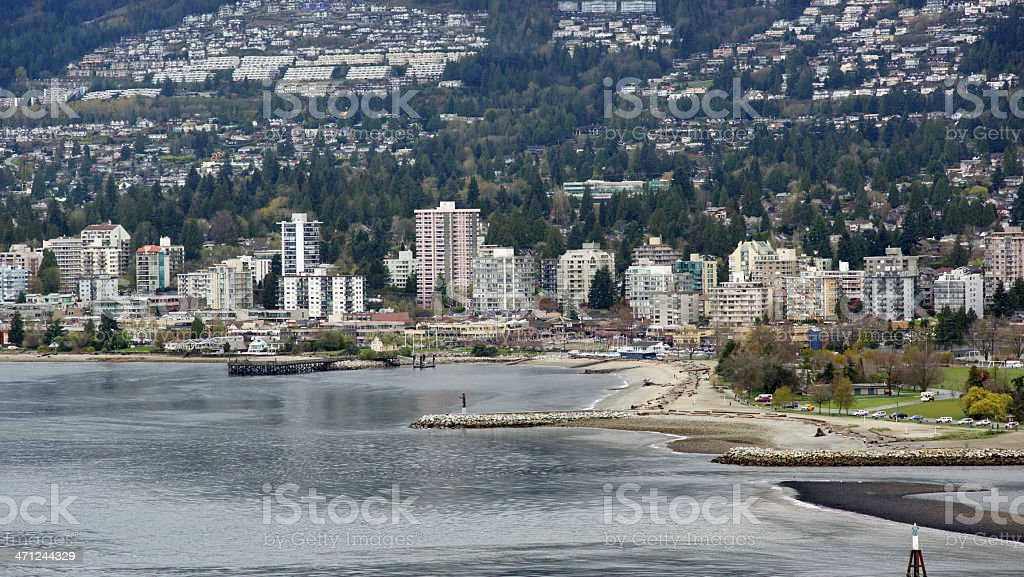 West Vancouver stock photo
