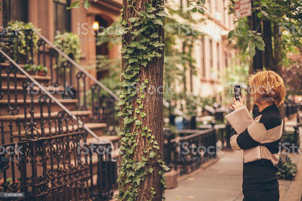 West Village Girl stock photo