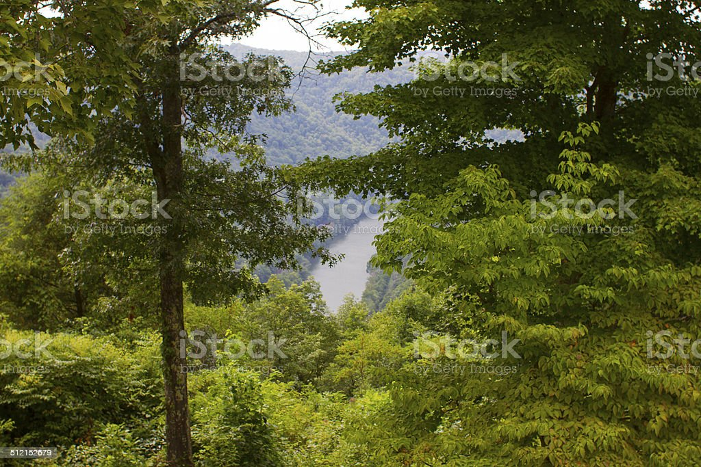 West Virginia New River stock photo