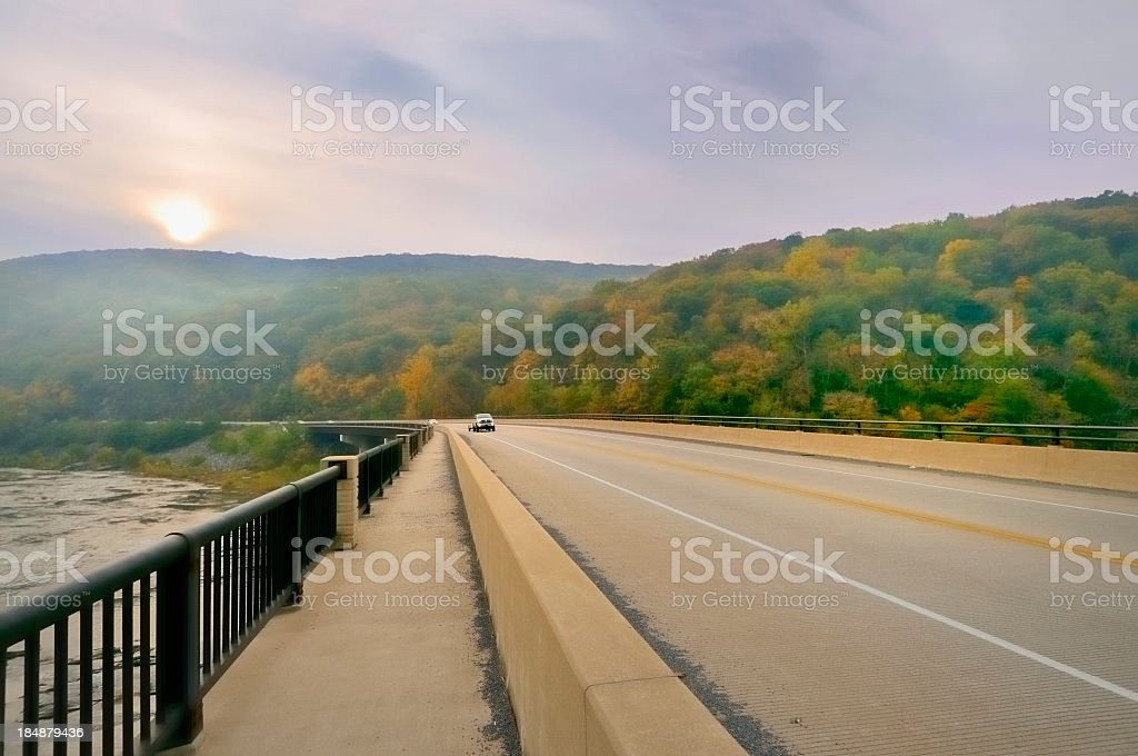 West Virginia Rush Hour stock photo