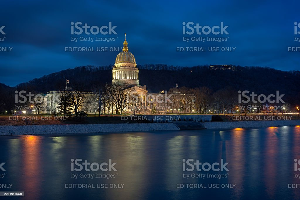 West Virginia State Capitol stock photo
