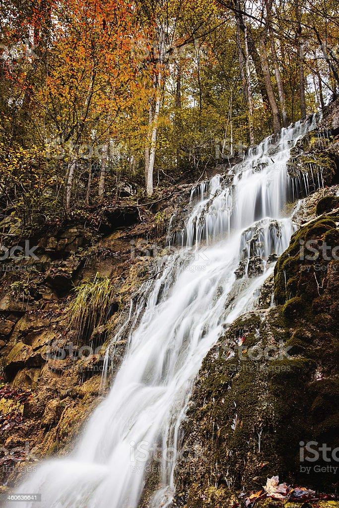 West Virginia Waterfall stock photo