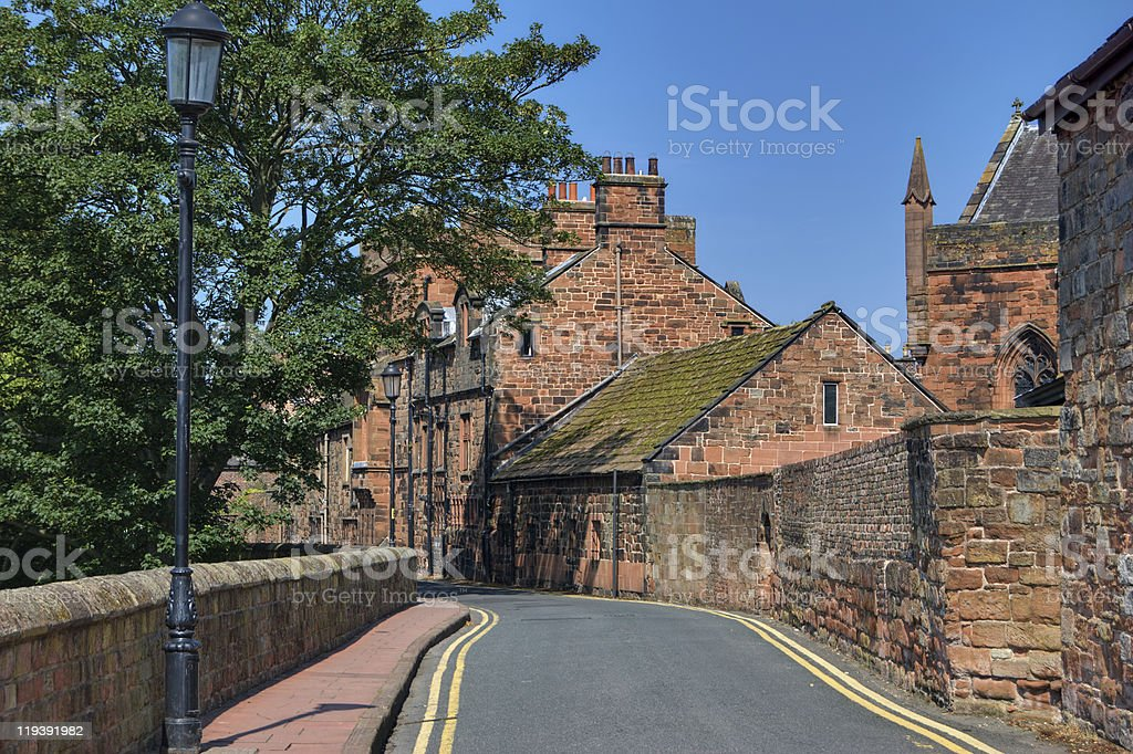 West Walls, Carlisle stock photo
