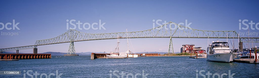 West Yacht Basin, Astoria, Oregon, United States stock photo