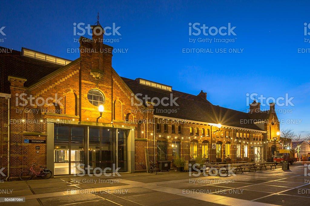 Westergasfabriek building stock photo