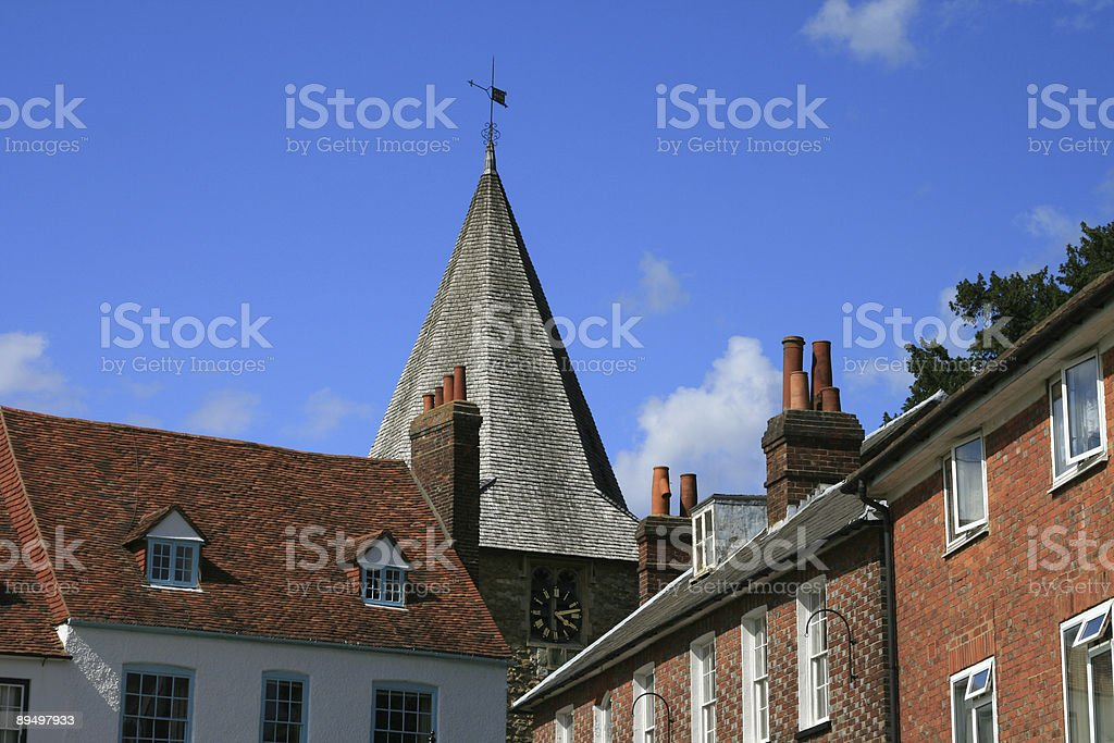 Westerham in Kent, England royalty-free stock photo