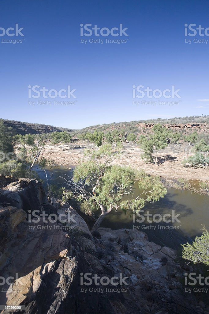 Western Australia, Cape Range National Park - Murchison River stock photo