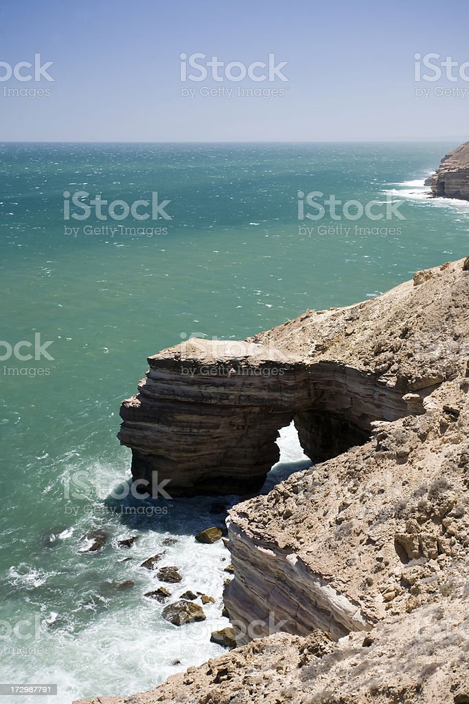 Western Australia - coastal scenic stock photo