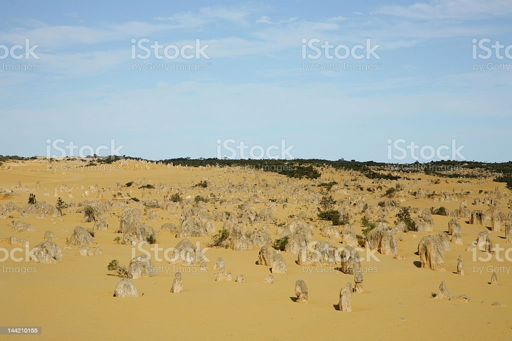 Western Australia - Pinnacles royalty-free stock photo