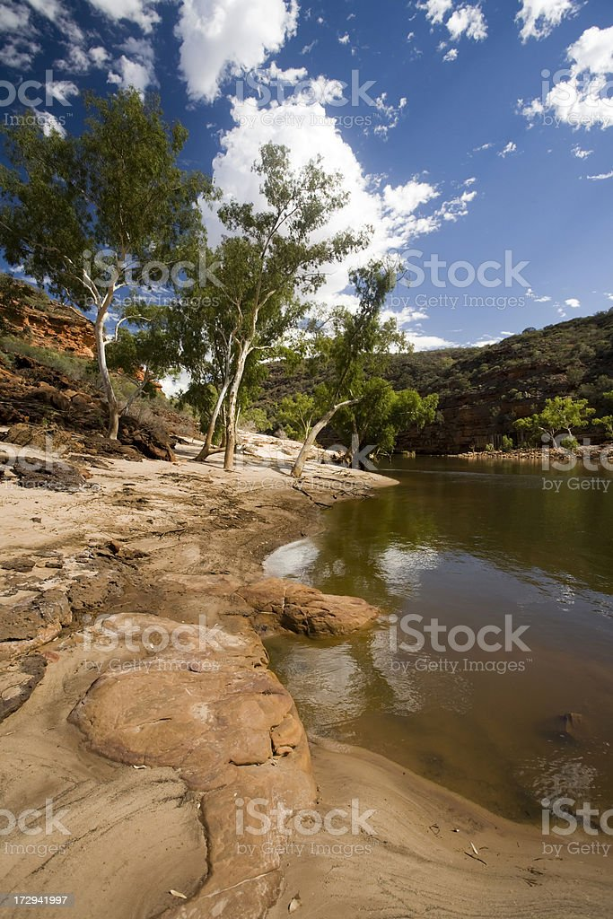 Western Australia, river scenic stock photo