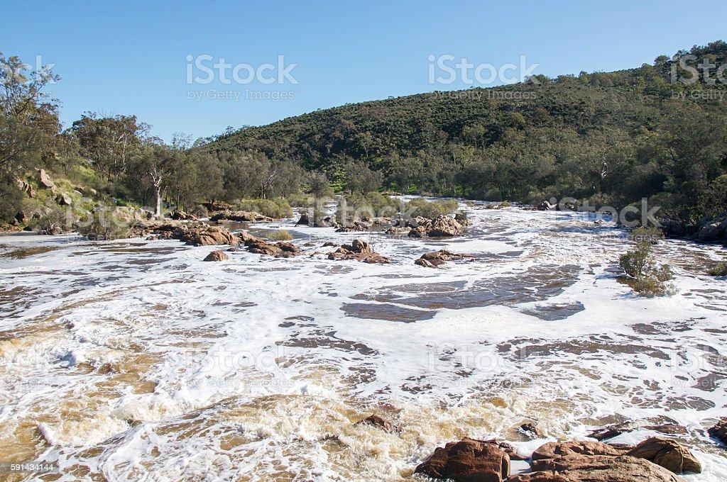 Western Australia White Water stock photo