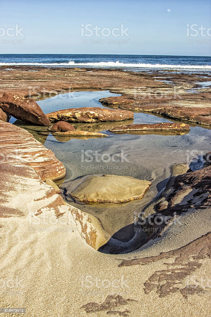 Western Australian Coastal Beauty stock photo