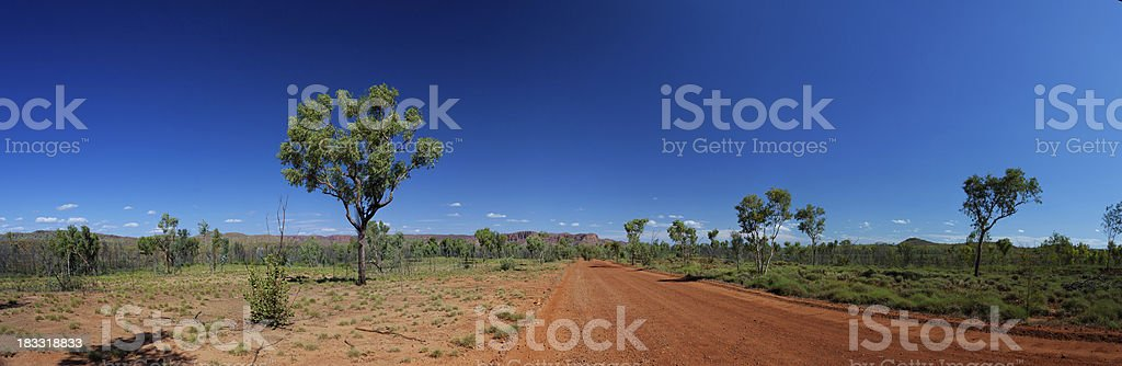 Western Australian outback royalty-free stock photo