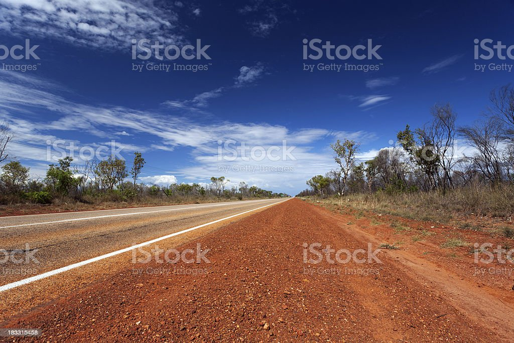 Western Australian road royalty-free stock photo