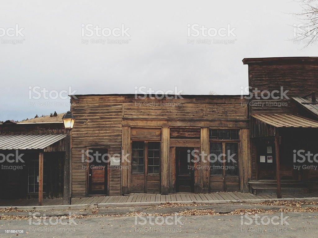 Western Buildings stock photo