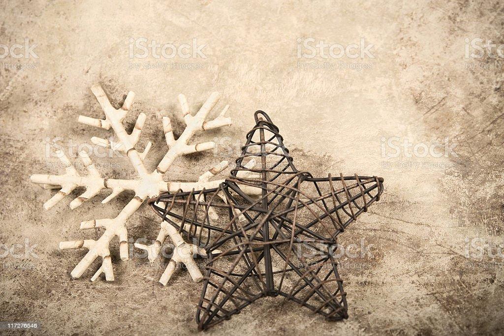 Western Christmas stock photo