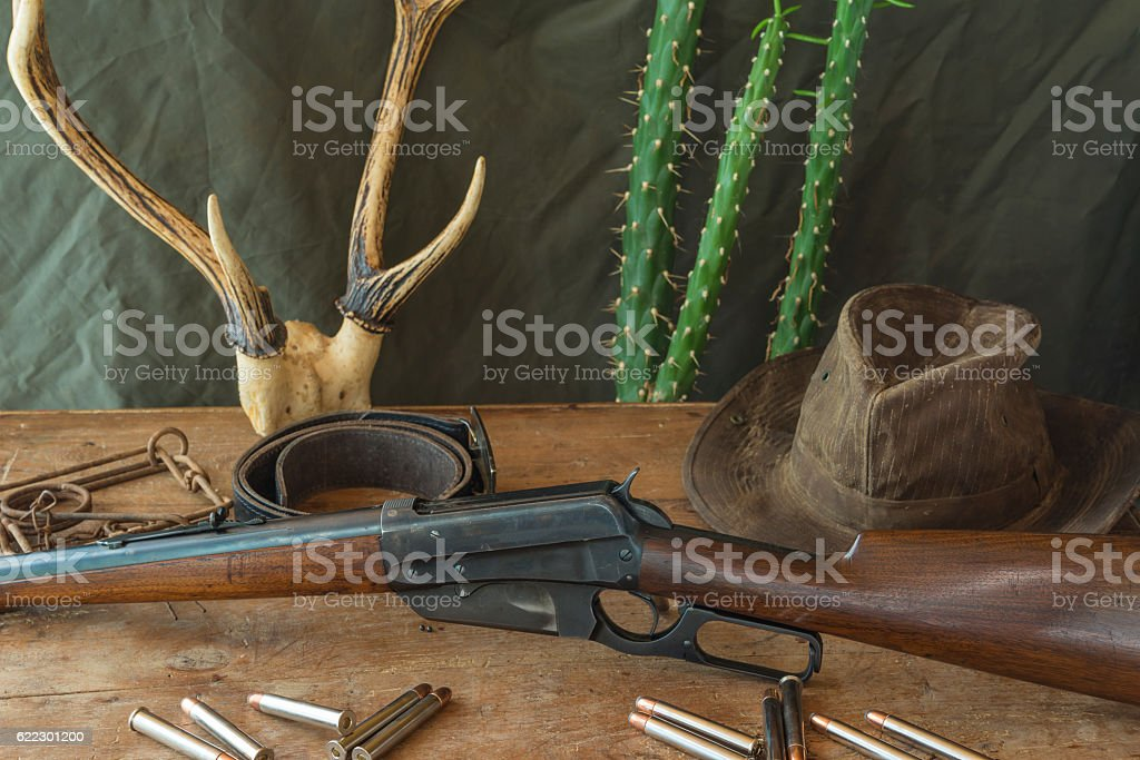 Western concept stock photo