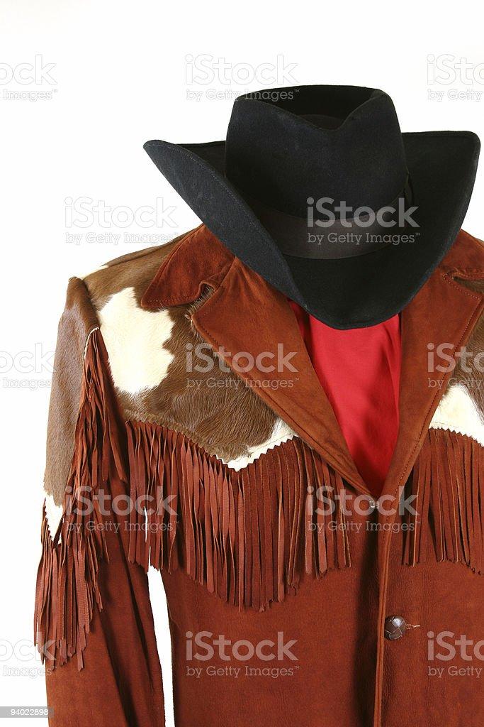 Western Dress royalty-free stock photo