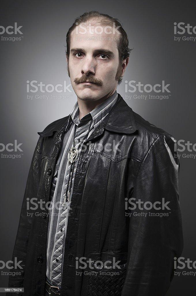 Western Dude stock photo