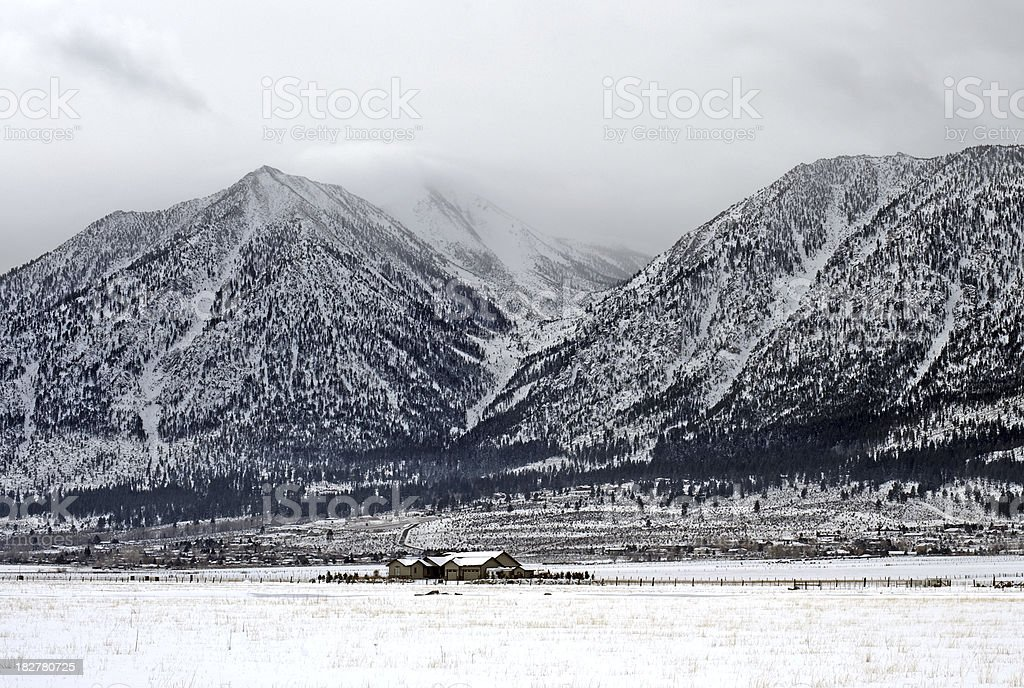 Western Frontier Life stock photo