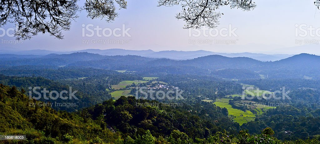 Western Ghats royalty-free stock photo