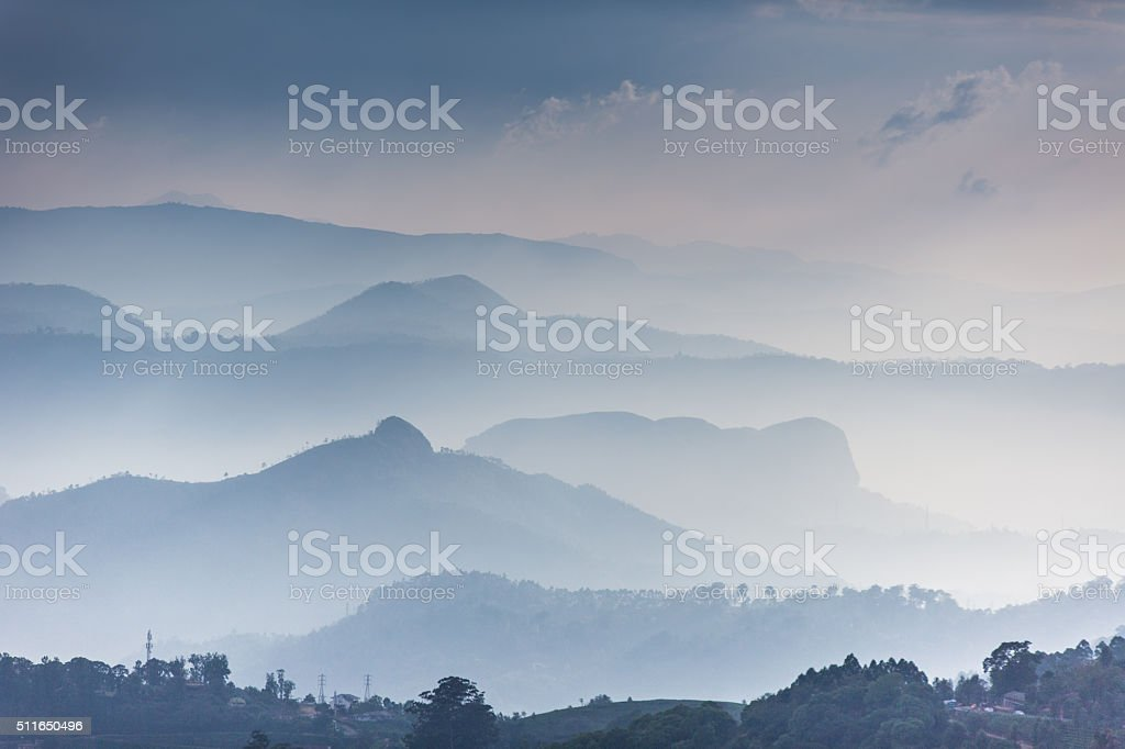 Western Ghats stock photo