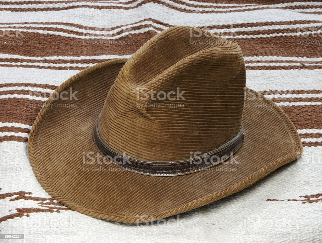 Western Hat royalty-free stock photo