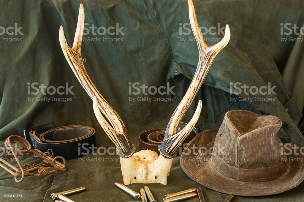 western hunting concept stock photo