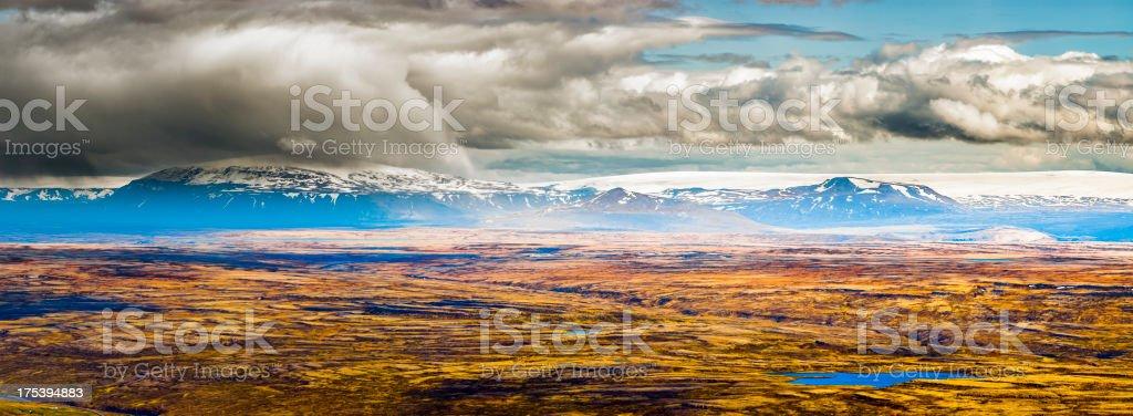 western iceland stock photo