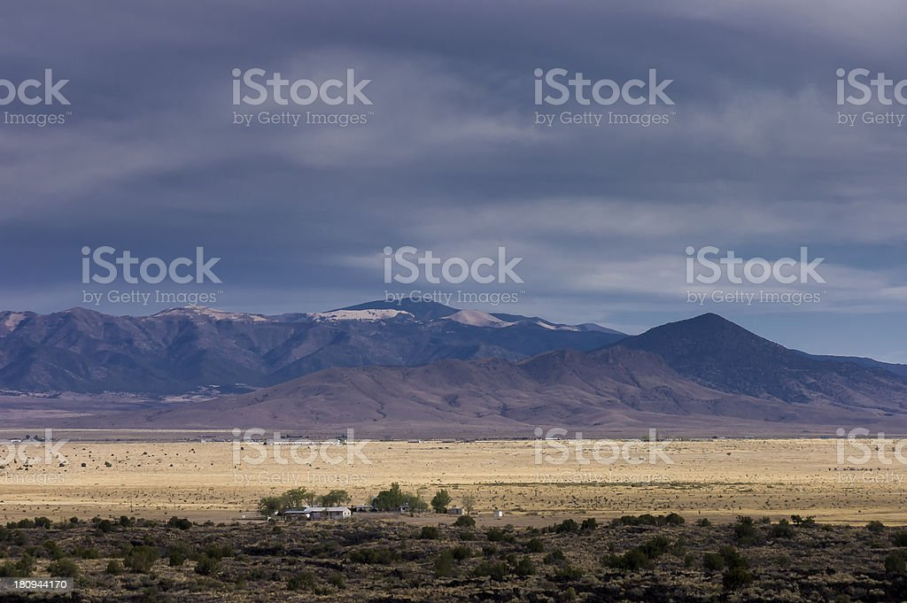 western ranch royalty-free stock photo